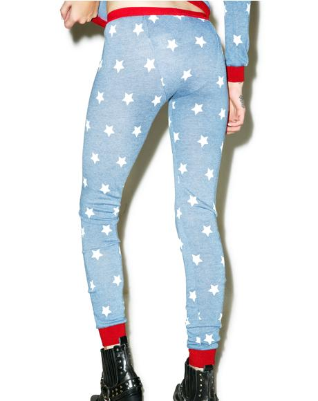 Head In The Stars Leggings