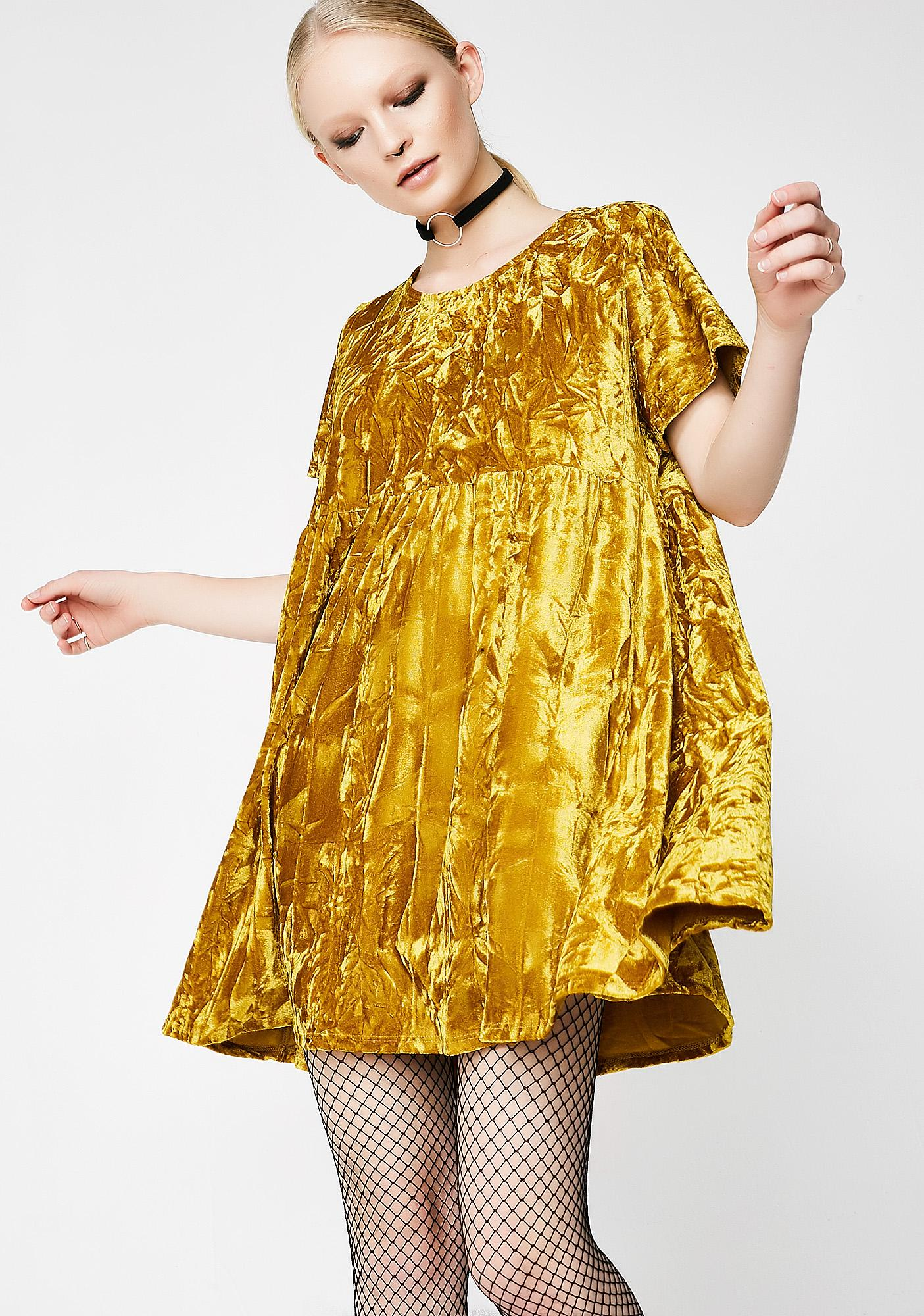 Glamorous Play Day Velvet Dress