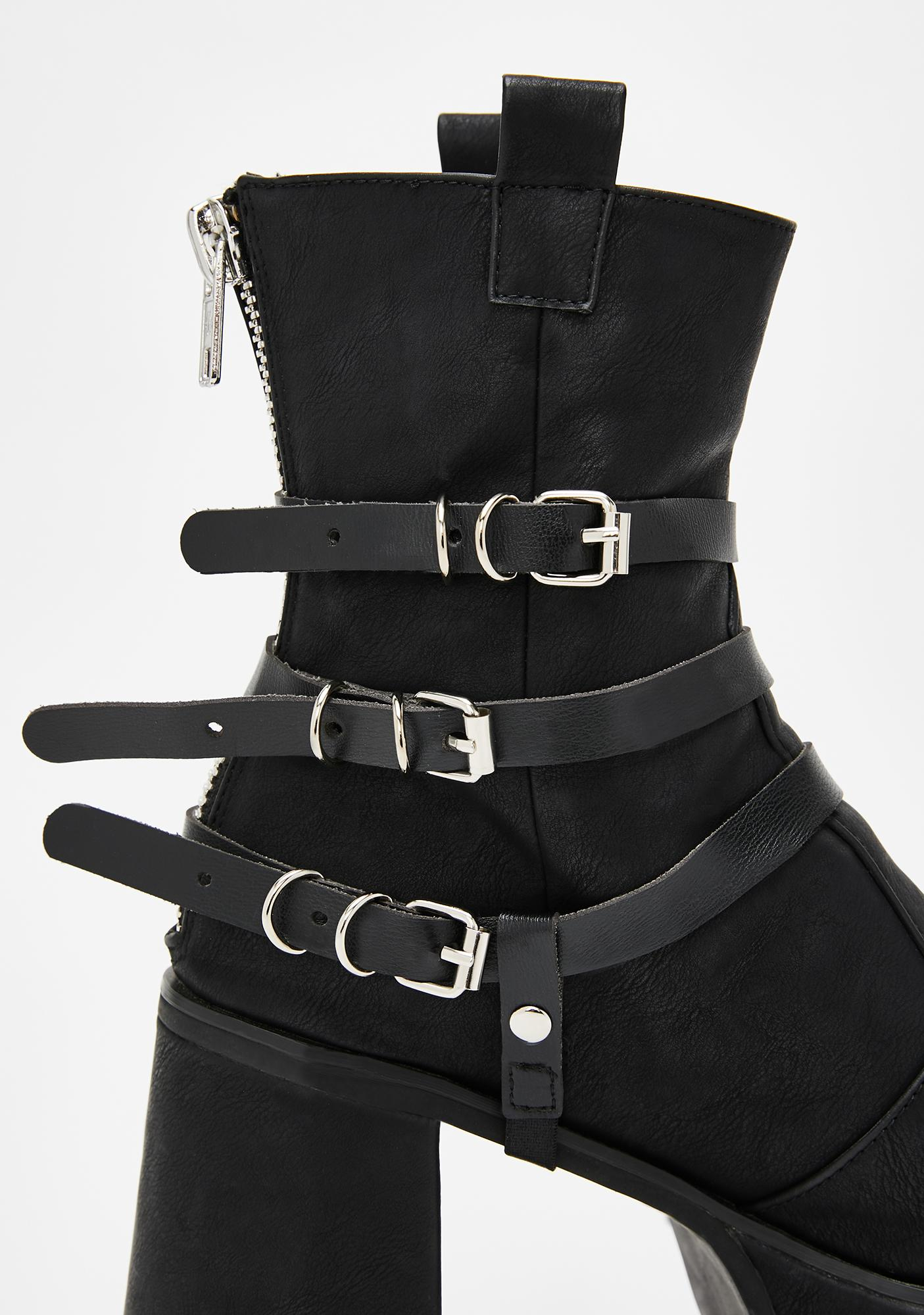 Sikk Rituals O-Ring Boot Harnesses