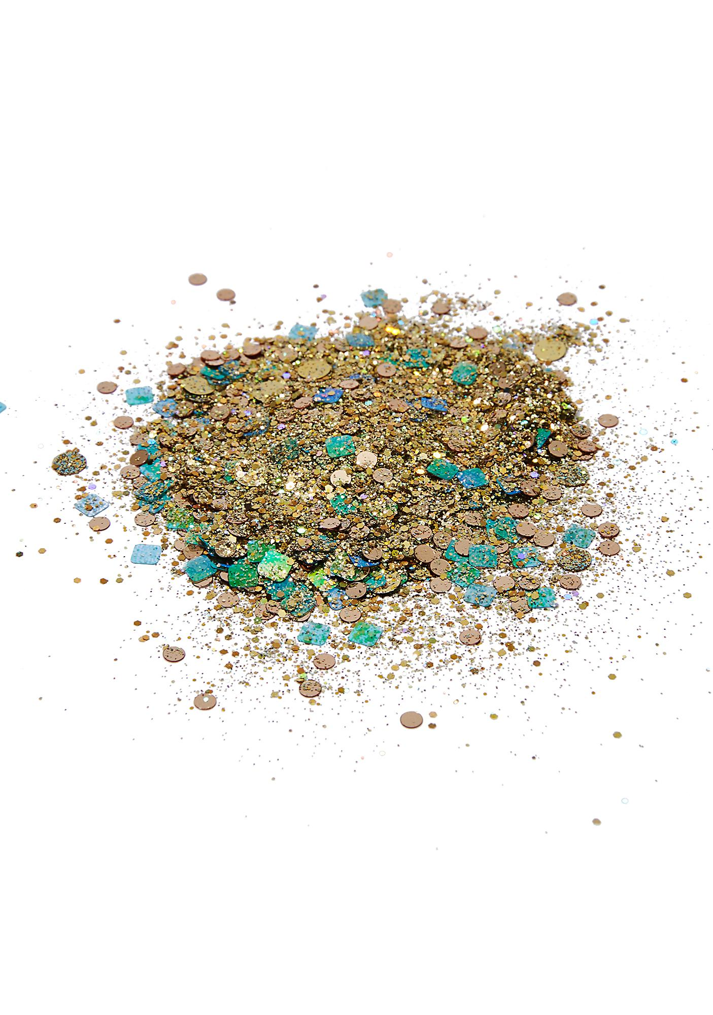 Disco Dust London Golden Beetle Disco Chunky Glitter Mix