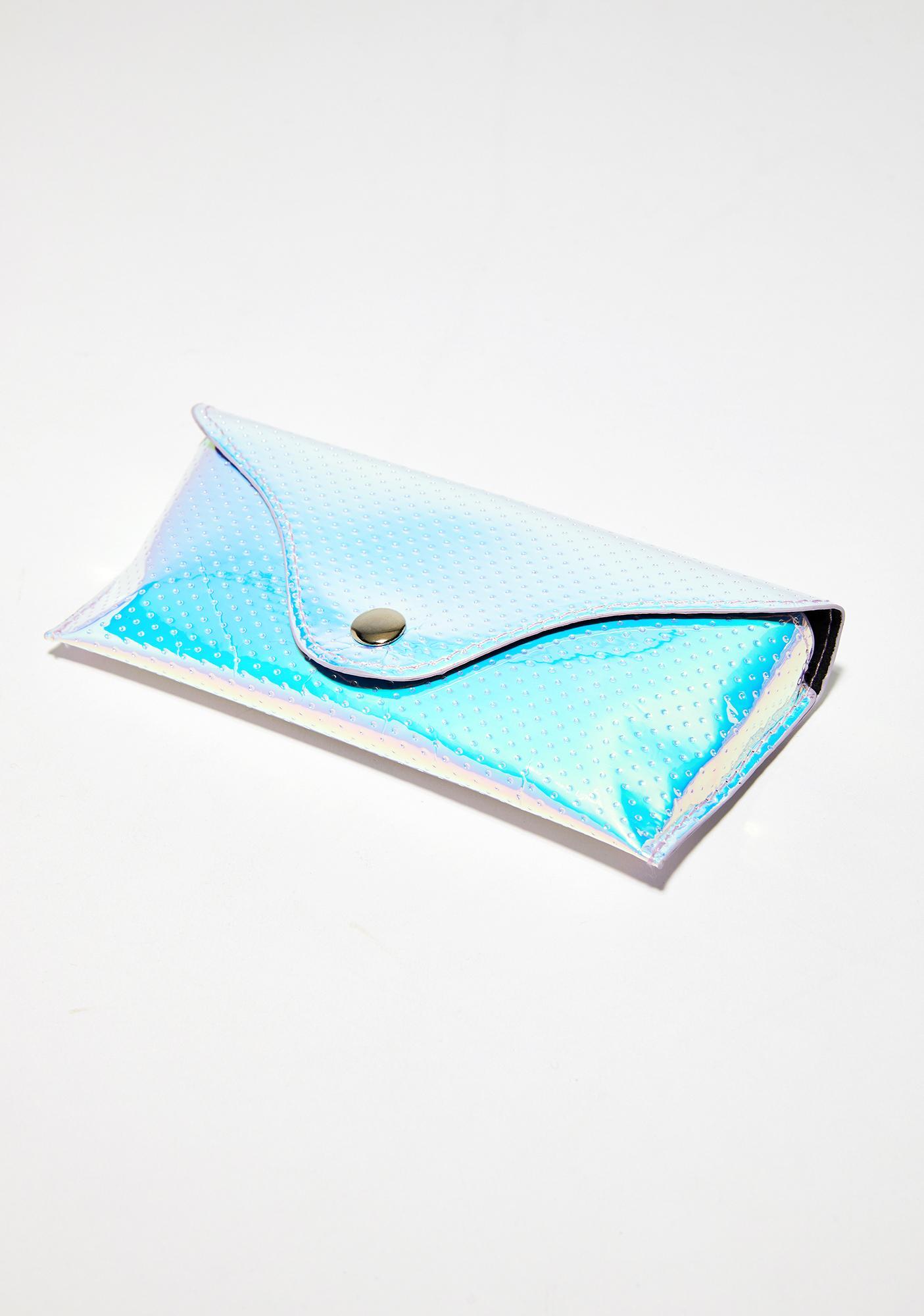 Skinnydip Hologram Sunglasses Pouch