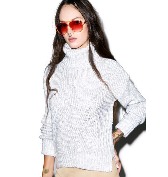 Glamorous Rumors Turtleneck Sweater