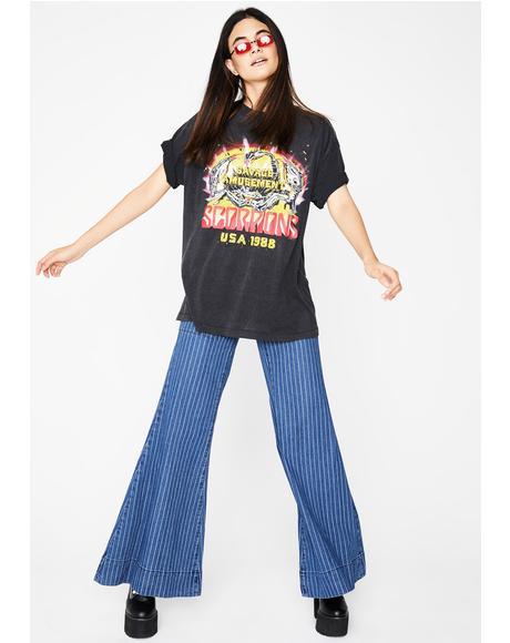 Familiar Groove Denim Pants
