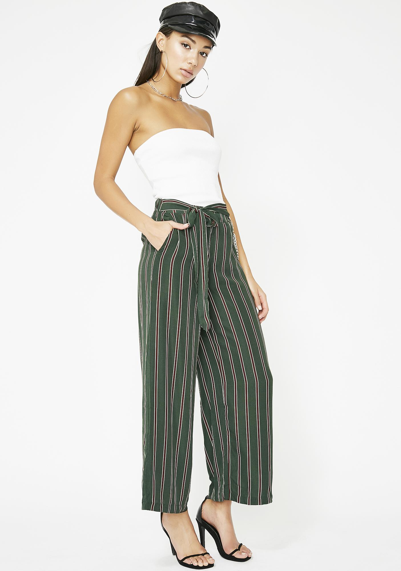 It's All Good Stripe Pants
