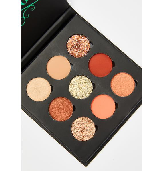 Glitter Injections The Bronze Life Palette