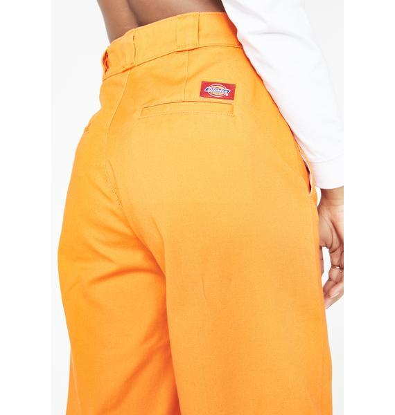 Dickies Girl Juiced Worker Wide Leg Pants