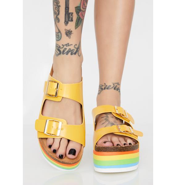 Sunny Venice Bish Platform Sandals