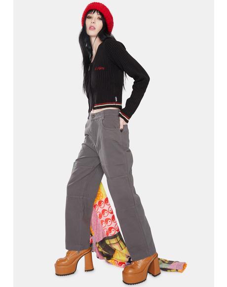 Paneled Utility Trouser