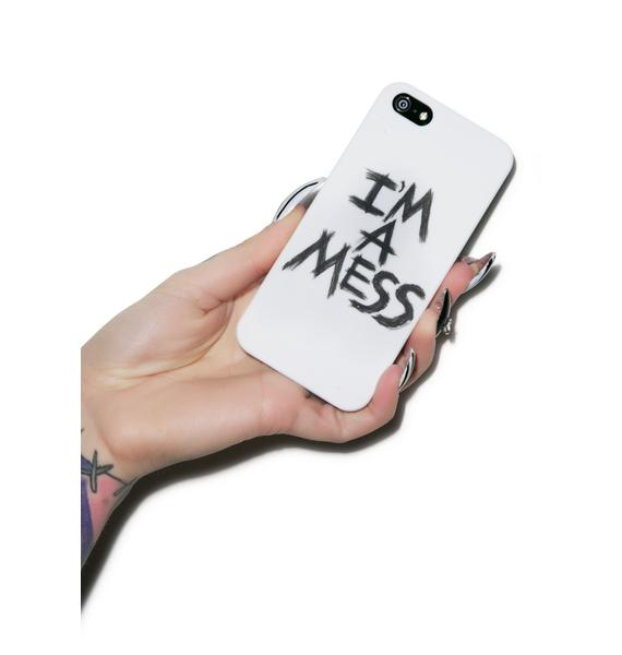 Lauren Moshi I'm A Mess iPhone 5 Case