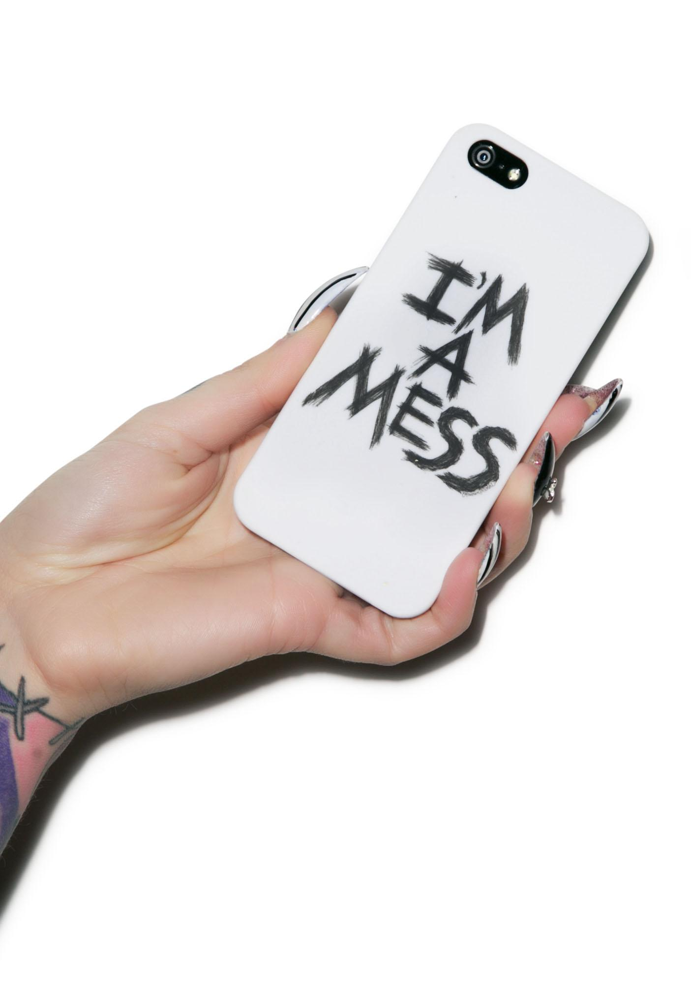 Lauren Moshi I'm A Mess iPhone 5 Case