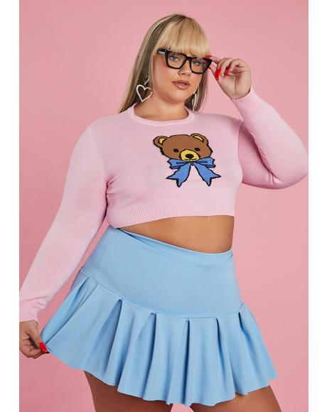 My Huggable Honey Cropped Sweater