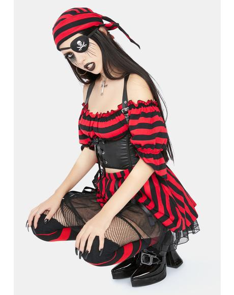 Shiver Me Timbers Pirate Costume