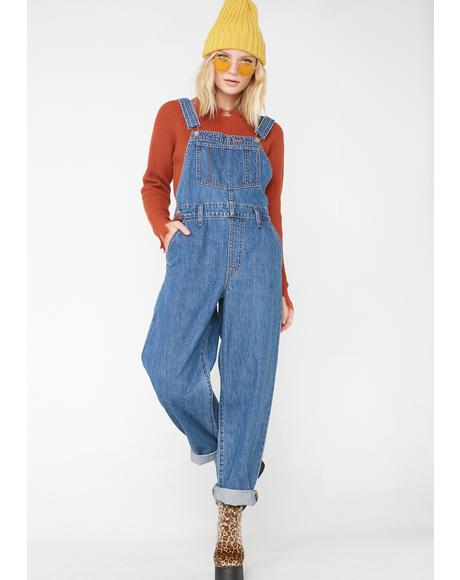 Baggy Overalls