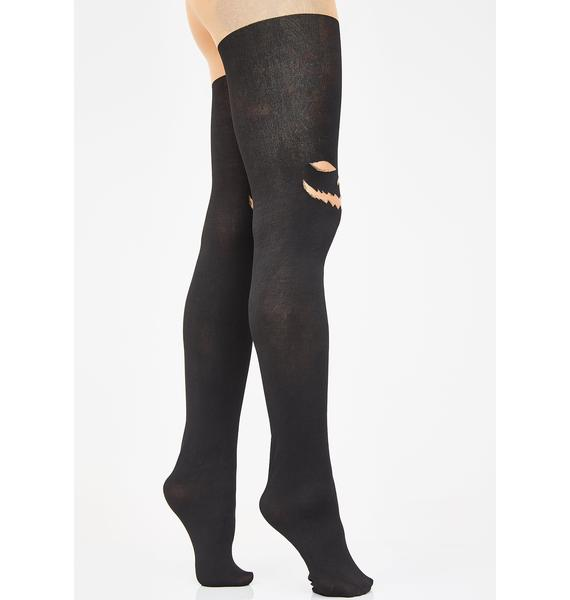 Hocus Pocus N' Chill Thigh Highs