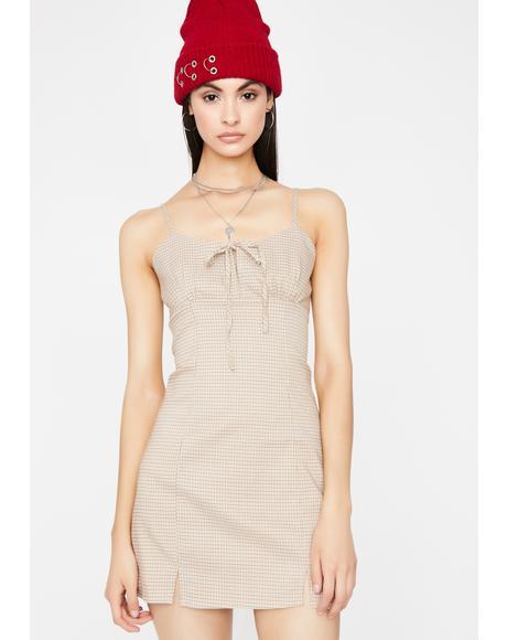 Remember My Name Plaid Dress