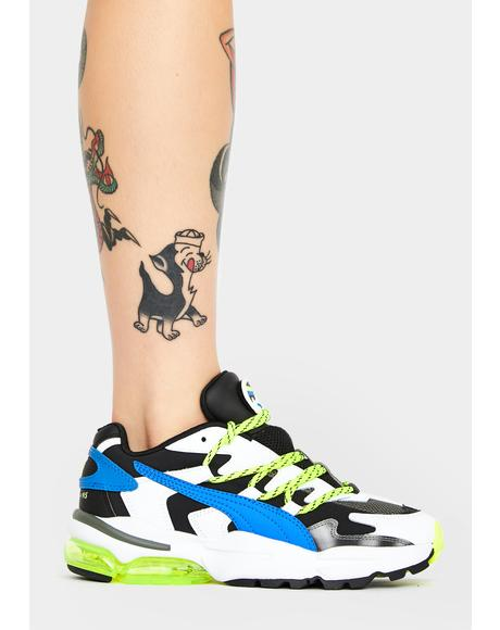 X Les Benjamins Cell Alien Sneakers