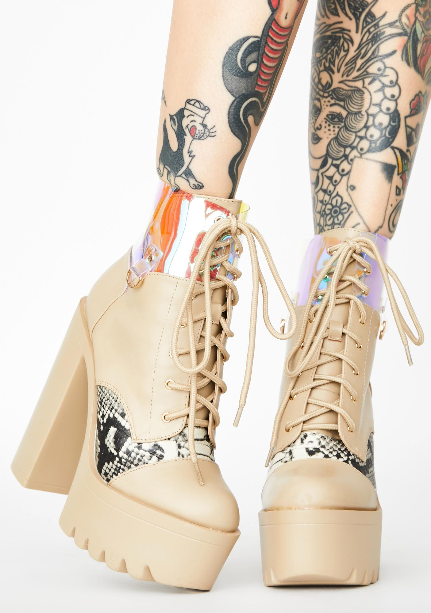 Corrupt Complex Ankle Boots