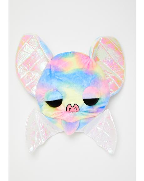 Sugarfueled Bat Rainbow Plush Bag