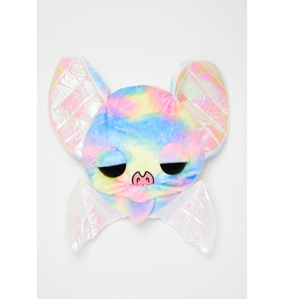 Kreepsville 666 Sugarfueled Bat Rainbow Plush Bag