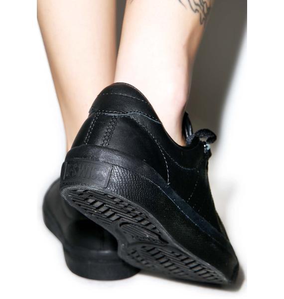 K-SWISS Black Irvine Sneakers