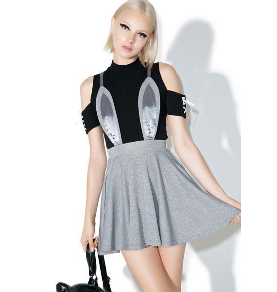 one spo Rabbit Flared Skirt