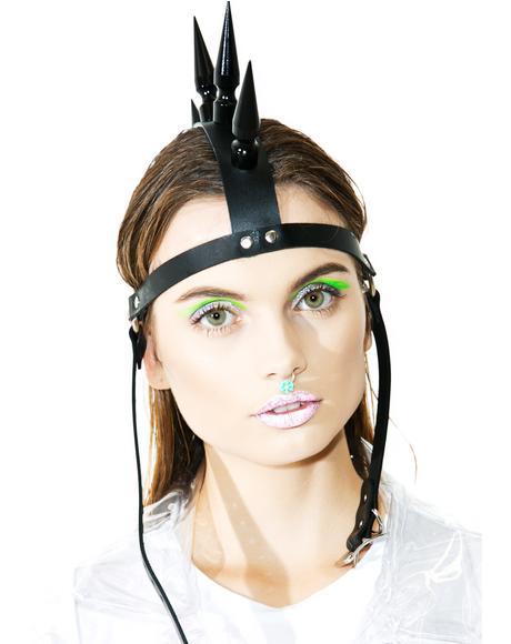 Manic Mohawk Headpiece