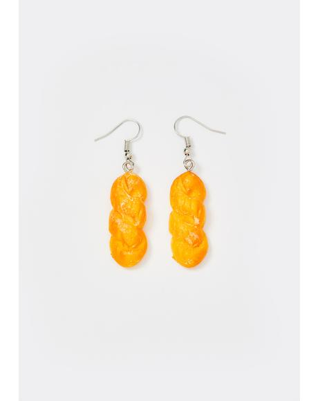 Fresh Baked Baguette Earrings