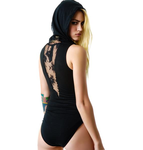 Widow Hooded Bodysuit