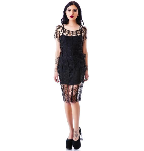 Widow A Haunting Beaded Dress