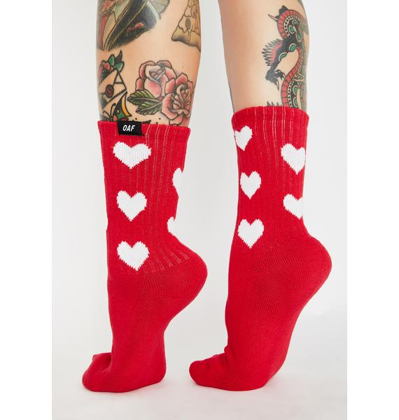 Lazy Oaf Oaffice Socks