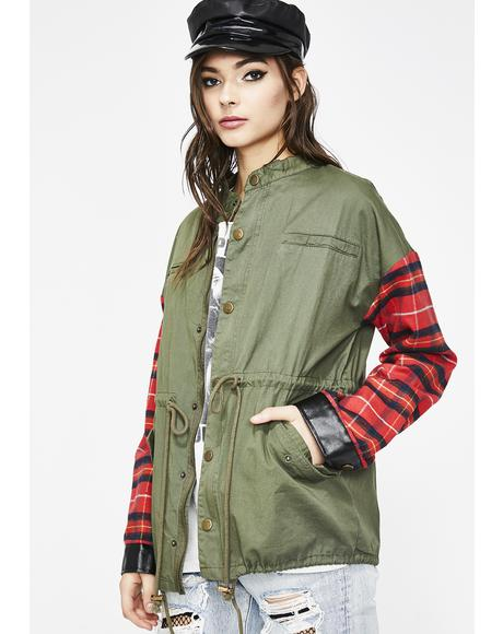 Blank Generation Plaid Jacket