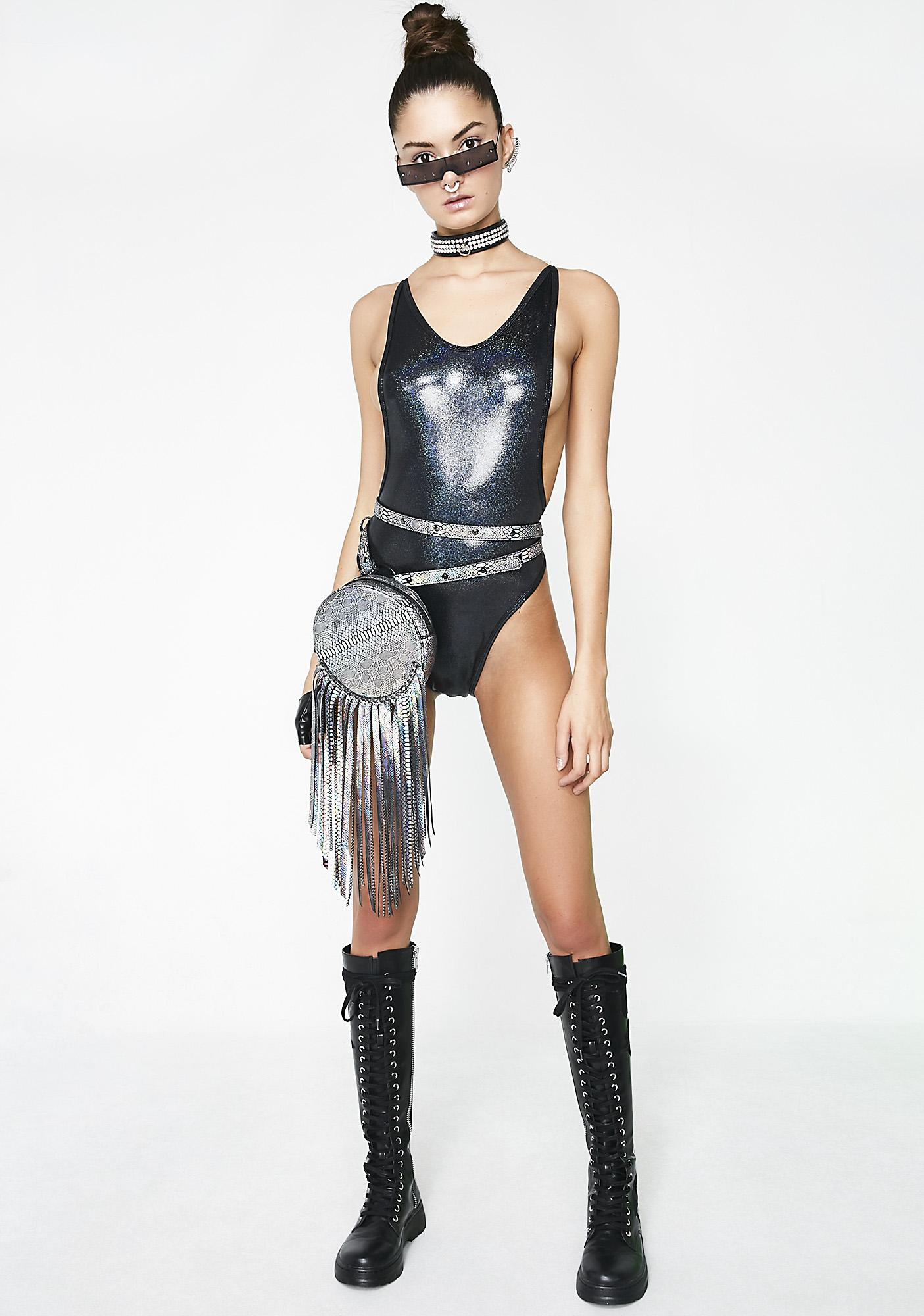 Dark Dimension High Rise Bodysuit