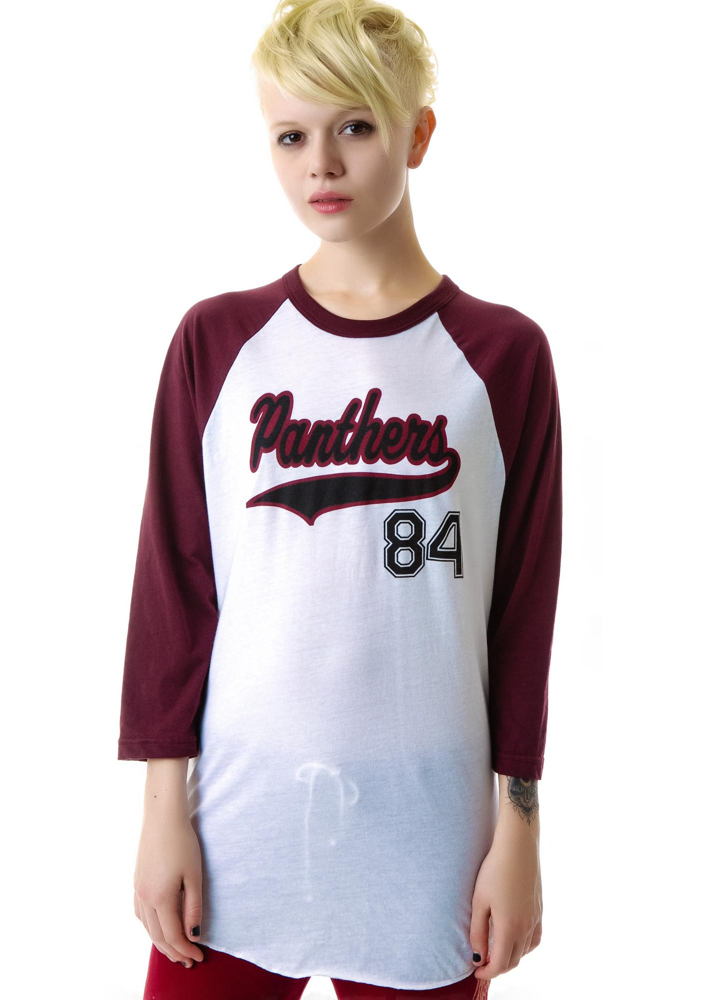 JET by John Eshaya Panthers Baseball Tee