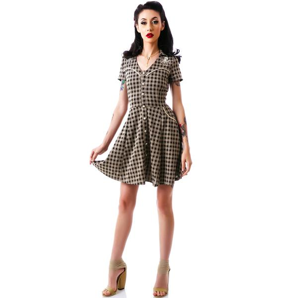 Sourpuss Clothing Western Octopus Dress