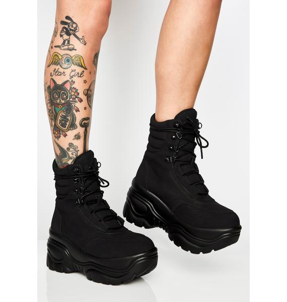 Y.R.U. Matrixx Hi Platform Sneakers