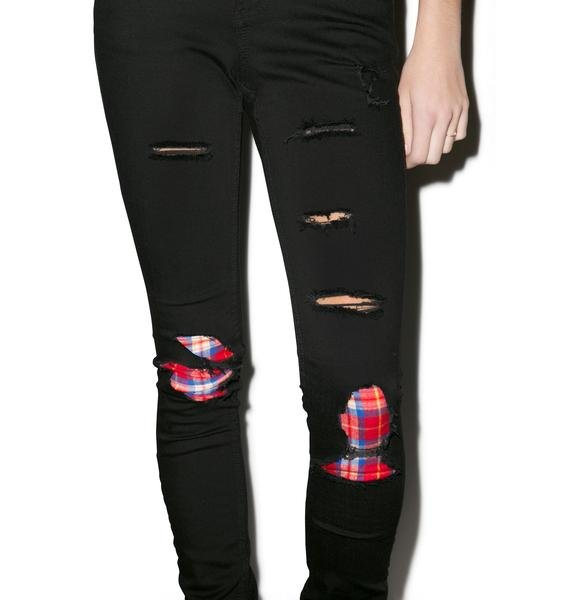 JET by John Eshaya Plaid Skinny