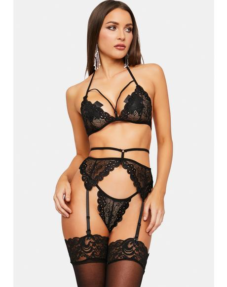 Lay Me Down Lace Lingerie Set
