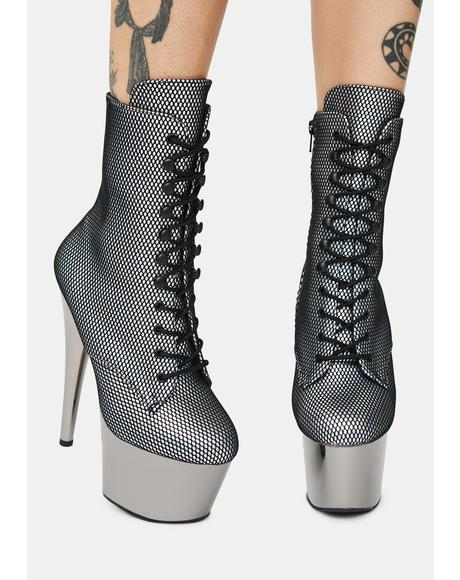 Up And Up Lace Up Ankle Boots