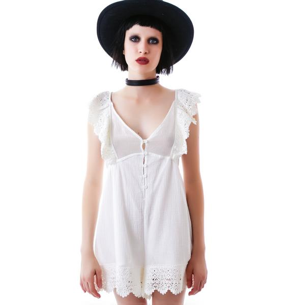 Coco Ruffle Playsuit
