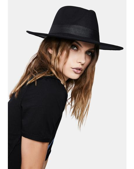 Midnight Party Foul Wide Brim Hat
