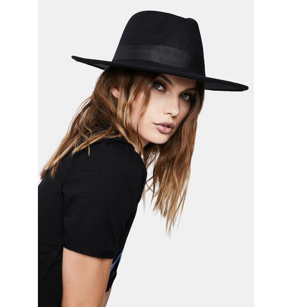 Midnight Party Foul Wide Brim Hat
