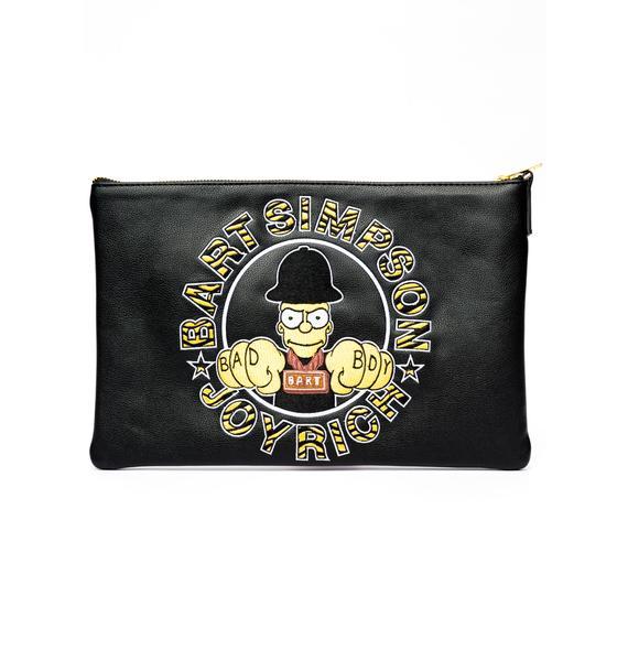 Joyrich Bad Boy Bart Clutch Bag
