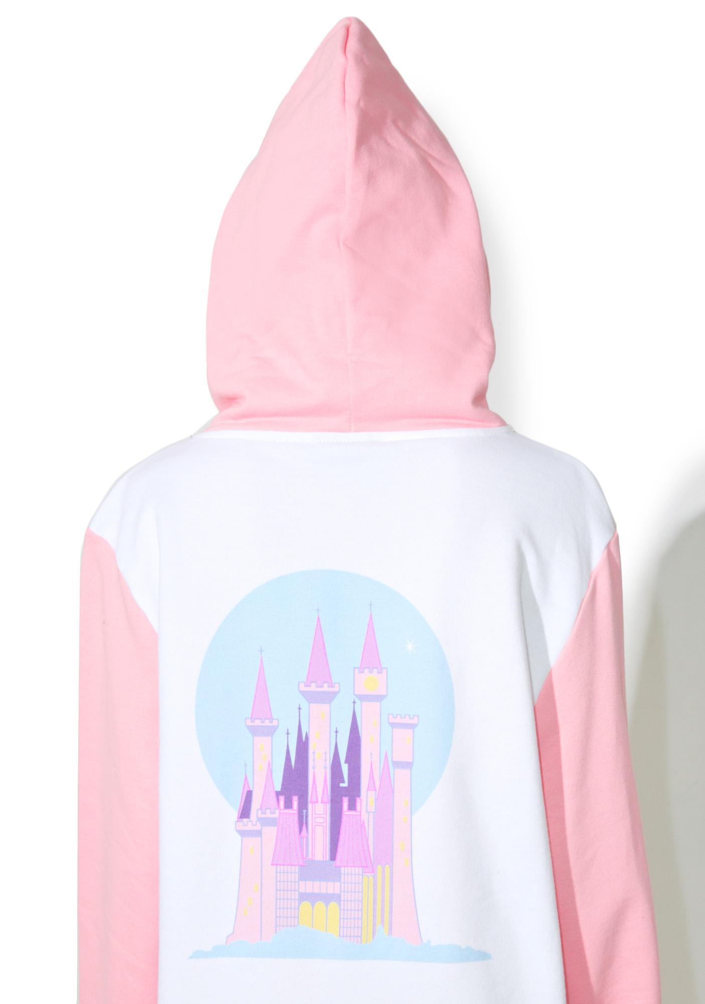 Lazy Oaf X Disney Cinderella Castle Hoodie