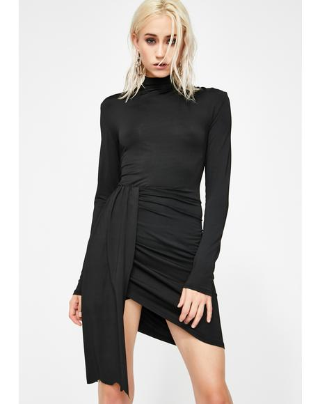 Tongue Tied Mini Dress