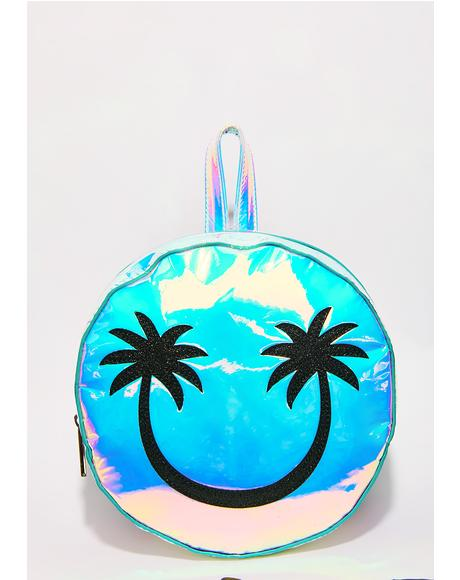 Palm Smiley Backpack