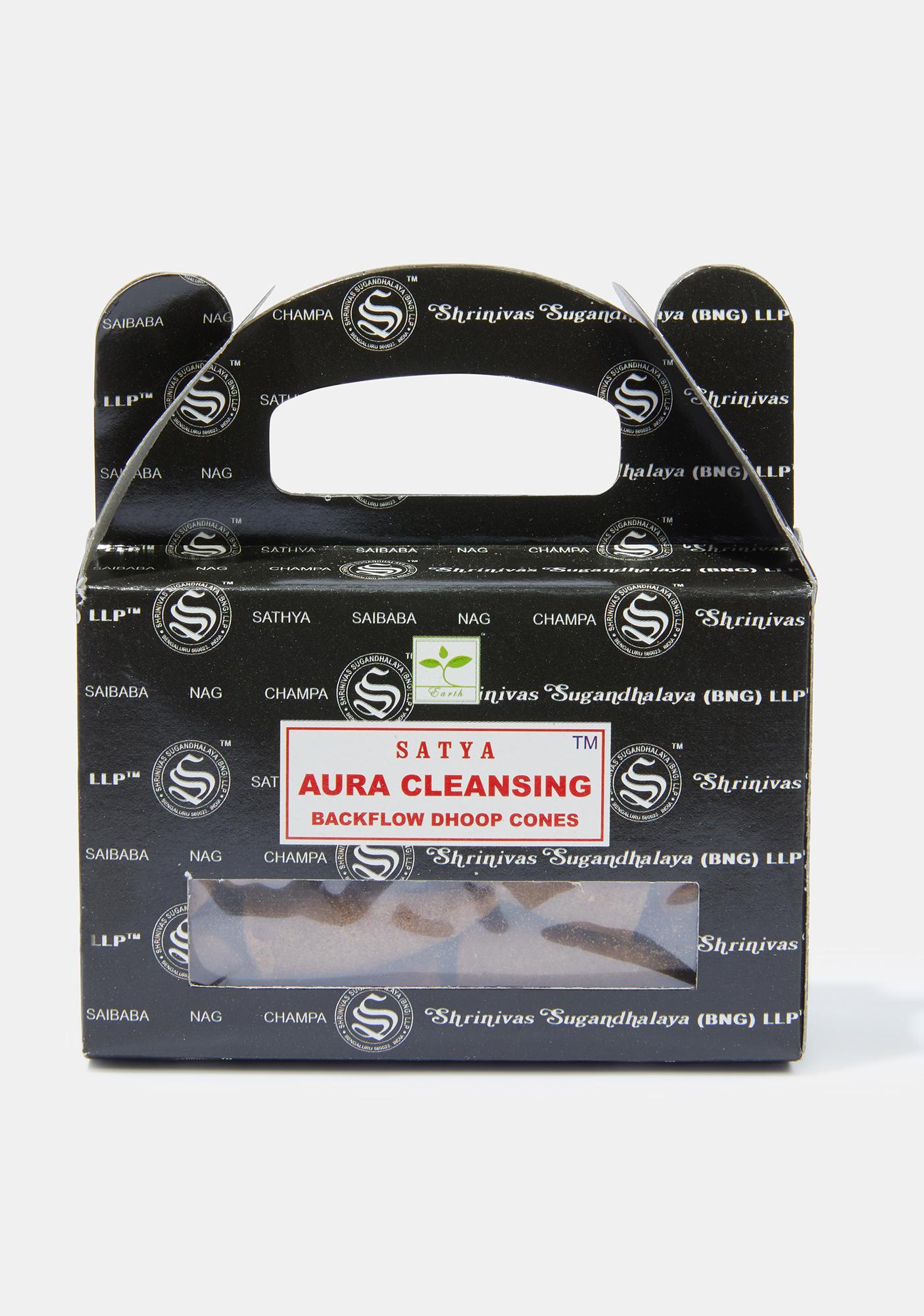 Satya Aura Cleansing Cones