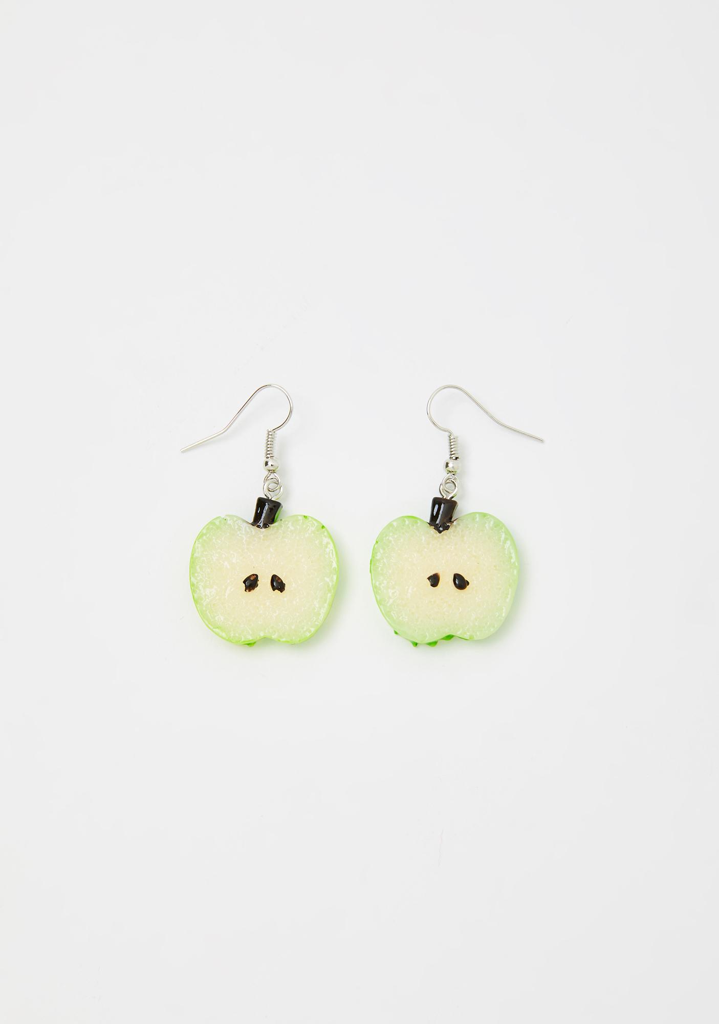 Tart N' Tangy Apple Earrings