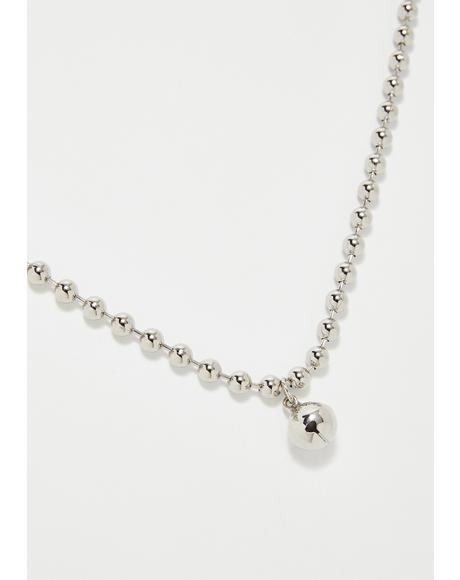 No Cat Calling Bell Choker