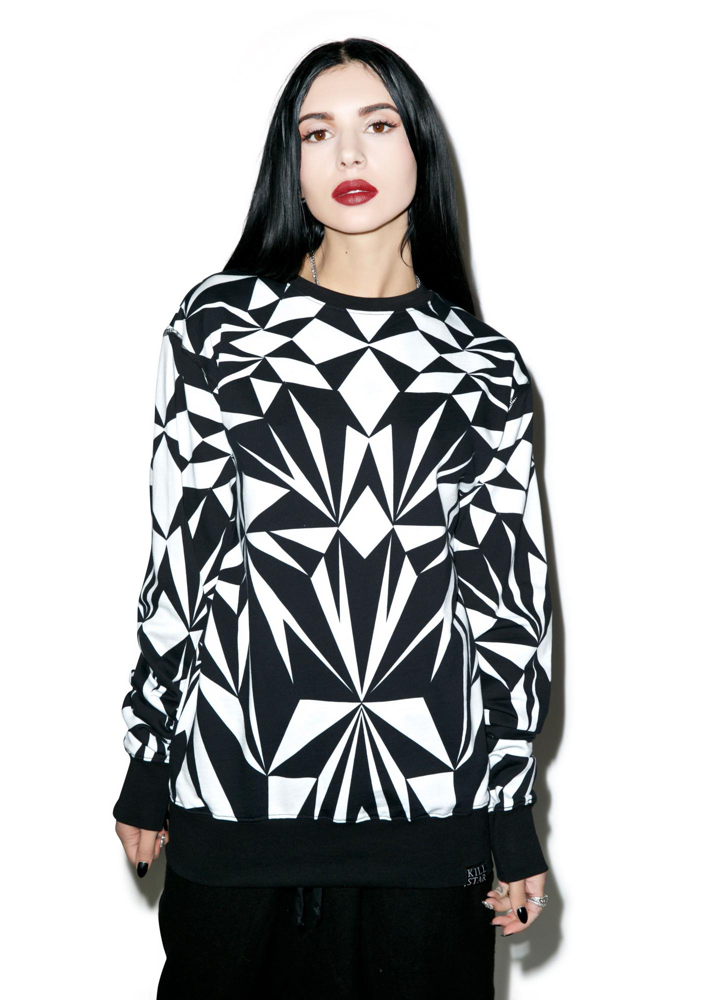 Killstar Fractal Sweatshirt
