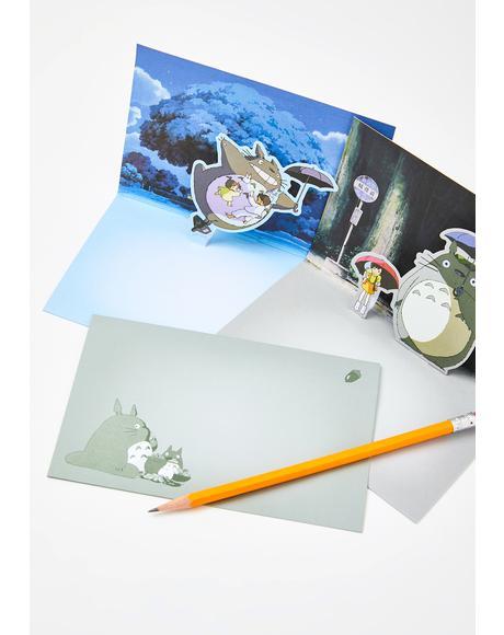 My Neighbor Totoro Pop-Up Notecards